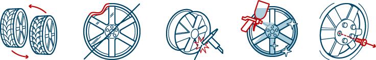 Иконки для сайта автомастерская шины
