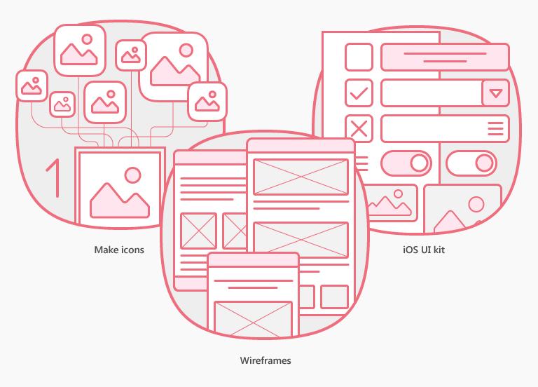Иллюстрации для сайта компании